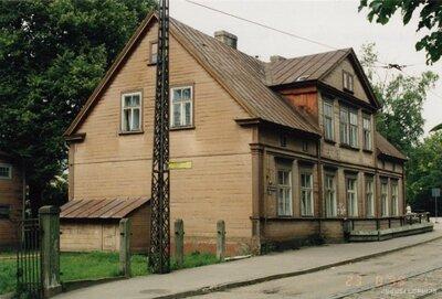 Rīga. Ēka Friča Brīvzemnieka ielā 14