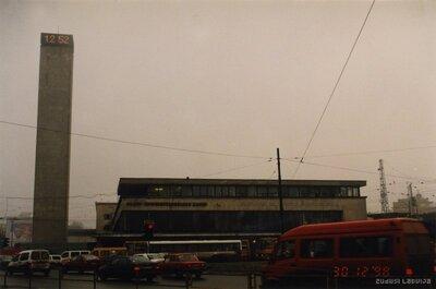 Rīga. Centrālā dzelzceļa stacija