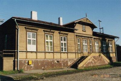 Rīga. Torņkalna stacijas ēka