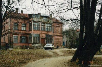 Rīga. Dzīvojamā māja Mazā Nometņu ielā 8