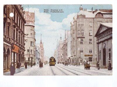 Rīga. Brīvības iela