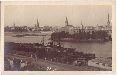 Rīga. Skats uz Vecpilsētu