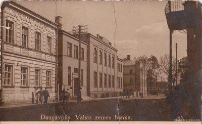 Daugavpils. Valsts zemes banka