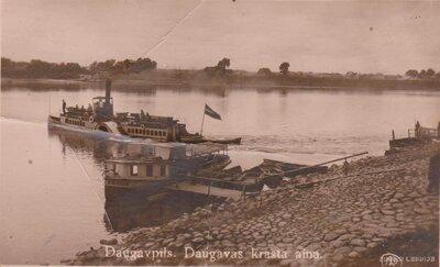 Daugavpils. Pasažieru kuģīši