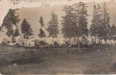 Karavīru nometne