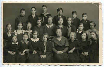 Ventspils pilsētas 2. pamatskolas skolēni