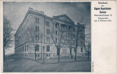 Rīga. Banku ēka
