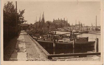 Ventspils. Zvejnieku osta