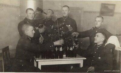 Siguldas kājnieku pulka karavīri