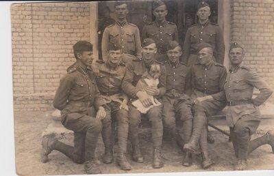 9.Rēzeknes kājnieku pulka karavīri