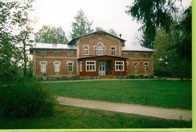 Staiceles pagasts. Vīķu muižas ēka