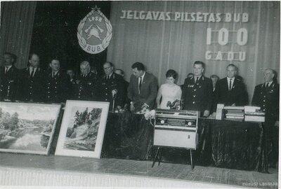 Jelgavas Brīvprātīgo Ugunsdzēsēju biedrības 100 gadu svinības