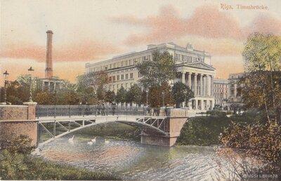 Rīga. Timma tilts un operas nams