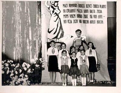 Galgauskas tautas nams. Bērnības svētki