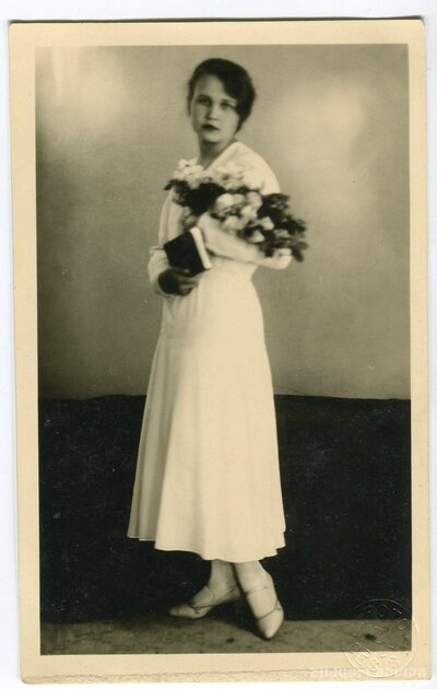 Zelma-Antonija Dzērve iesvētību dienā