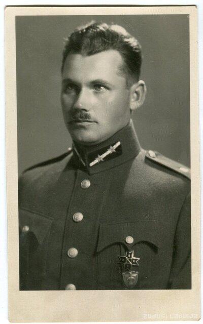 Virsleitnants Otto Kļaviņš [?]