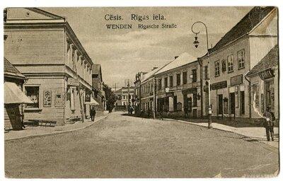 Cēsis. Rīgas iela