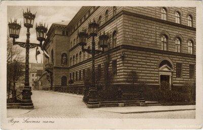 Rīga. Saeimas nams