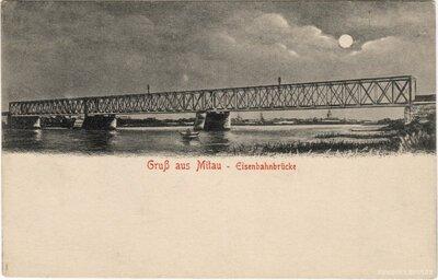 Jelgava. Dzelzceļa tilts