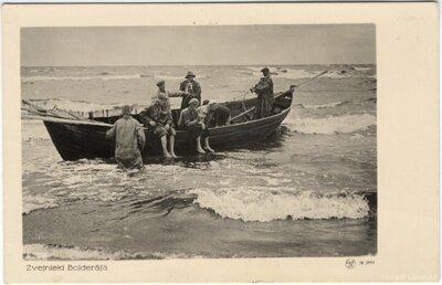 Zvejnieki Bolderājā