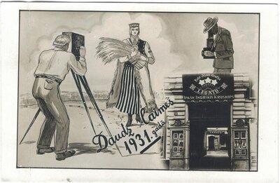 Daudz laimes 1931. gadā