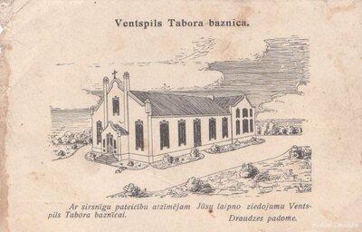 Ventspils. Tabora baznīca