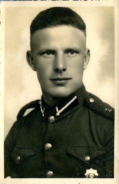 2. Venstspils kājnieku pulka dižkareivis Visvaldis Sproģis