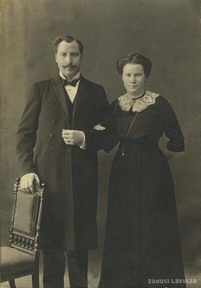 Ludvigs Teodors un Paulīne Jordani