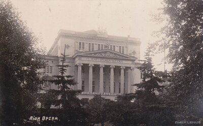 Rīga. Nacionālā opera