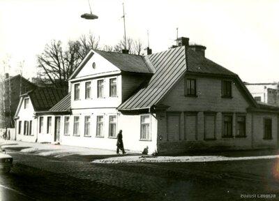 Rīga. Nams Hospitāļu ielā 41