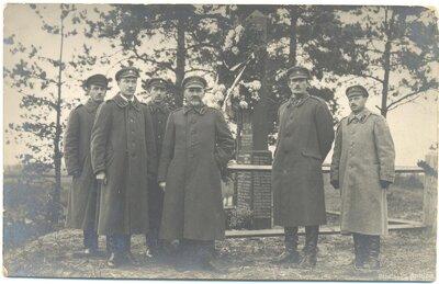 Piemineklis 6. Rīgas kājnieku pulka karavīriem
