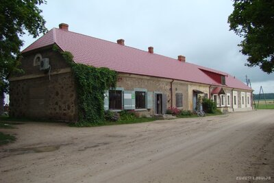 Asares pagasts. Bijušā kroga ēka