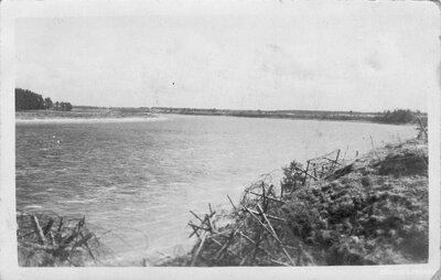 Nāves sala. Daugavas krasts