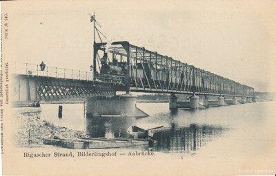 Bulduri. Dzelzceļa tilts