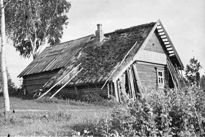 Riebiņu novads. Podnieka P. Vilcāna māja