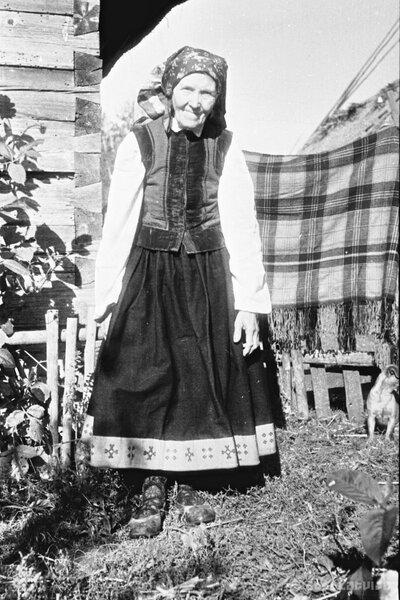 Audēja Anna Mielava Otaņķos