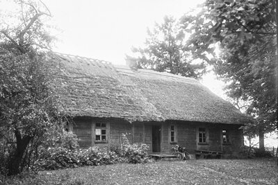 Rucavas pagasts. Mājas Vecģeistauti