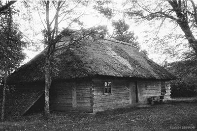 Rucavas pagasts. Mājas Pērkoni