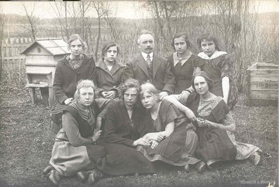 Madlienas pamatskolas skolēni