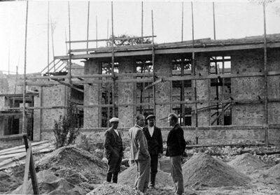 Biržu Aizsargu nama celtniecība