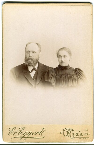 Tenis Lūkins un Marija Skrastiņa
