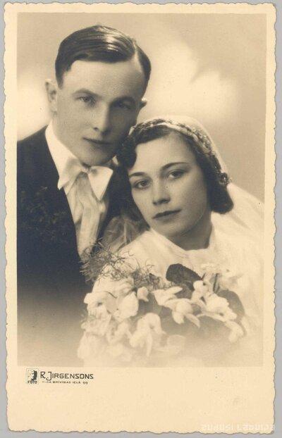 Elzas Miķelsones un Viļa Vidža kāzas