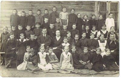 Annas pagasta skolēni