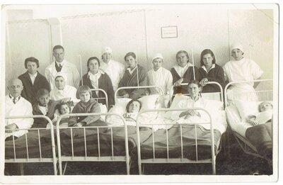 Anna Jēlnieks slimnīcā