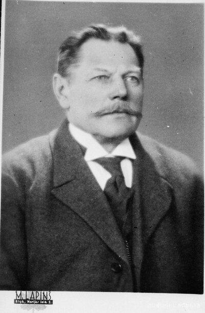 Tirzas pagasta vecākais Andrejs Kaudze