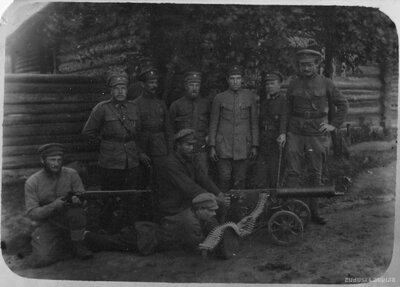 Kapteinis Pēteris Ozoliņš un 6. Rīgas kājnieku pulka izlūku nodaļa