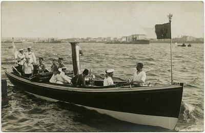 Krievijas cars Nikolajs II Rīgā 1910. gadā