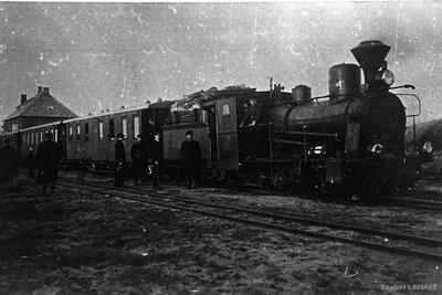 Vilciens Pāles stacijā