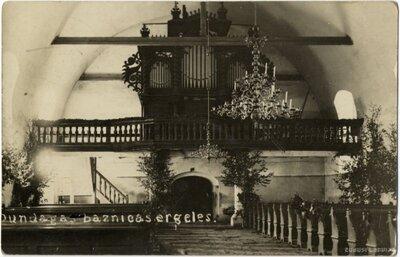Dundagas baznīcas ērģeles