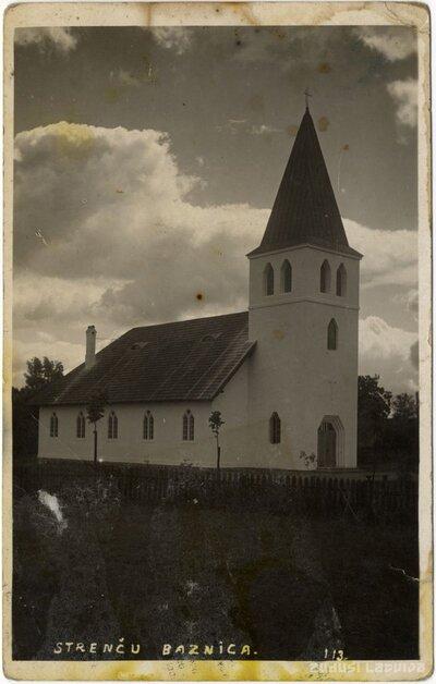 Strenču luterāņu baznīca